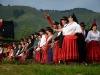 Côté cour, les acteurs qui, pendant la représentation, ont emprunté la porte dite des Turcs dans la tradition.